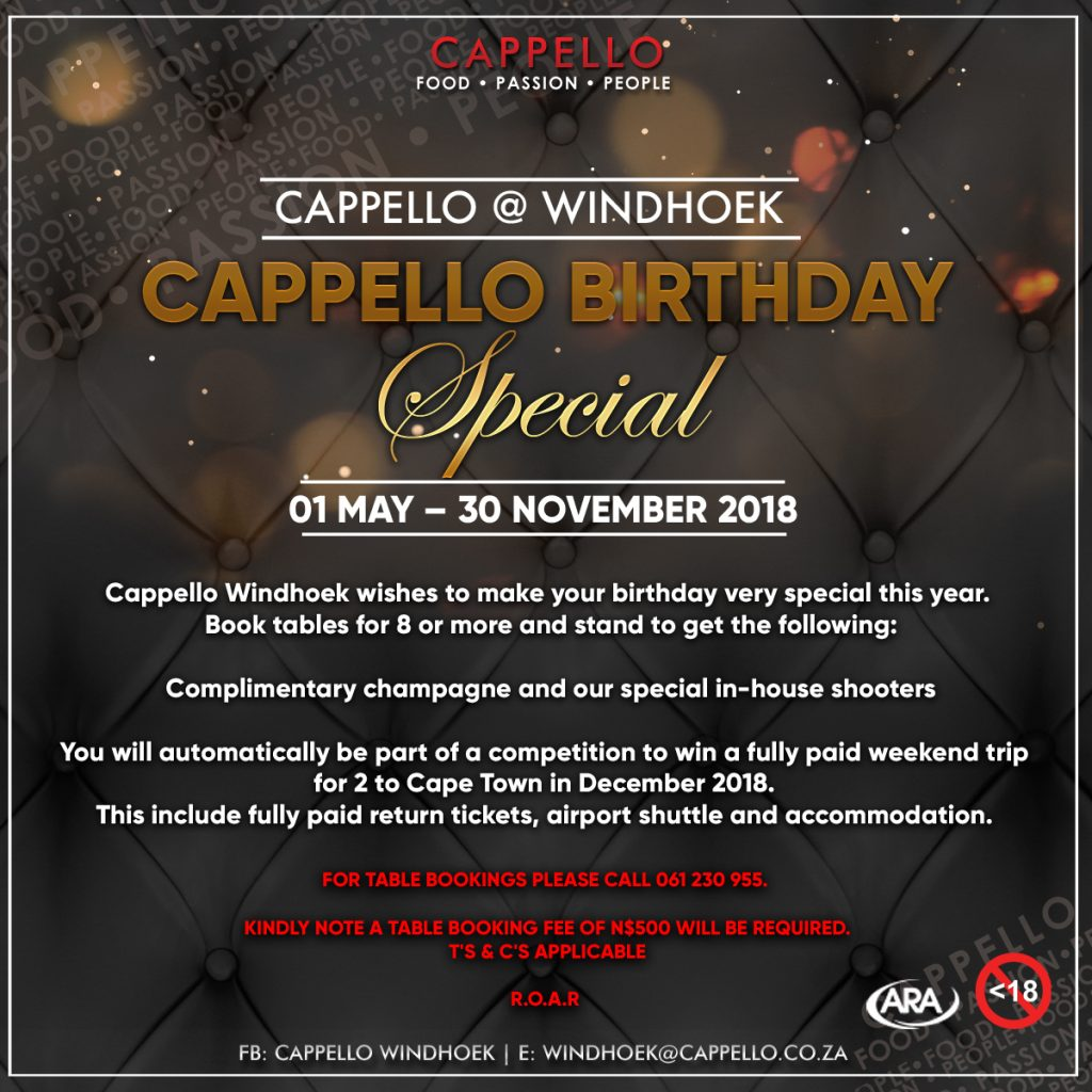 Welcome to Cappello